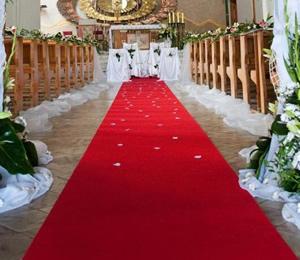 Moquette de mariage 1.01m largeur
