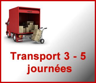 Transport 3 – 5 journées ouvrés