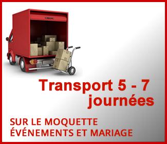 Transport 5 – 7 journées ouvrés